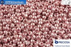 Preciosa český rokajl 1 jakost růžový metalíza (18192) 10/0, 50g
