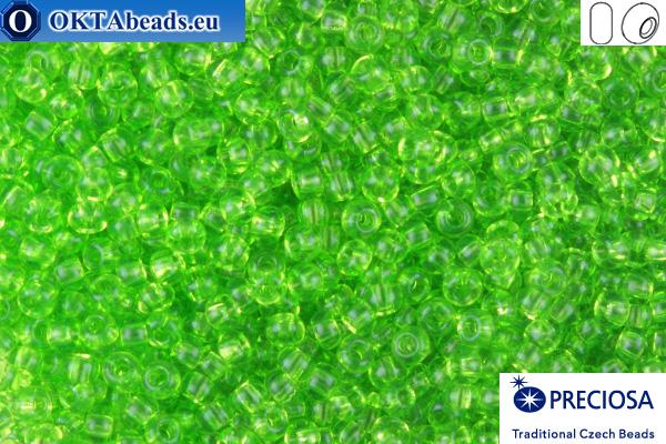 Preciosa český rokajl 1 jakost světle zelený (50220) 10/0, 50g