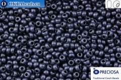 Preciosa czech seed beads 1 quality grey matte (28928m) 10/0, 50g