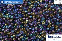 Preciosa český rokajl 1 jakost šedý AB (41010) 10/0, 50g