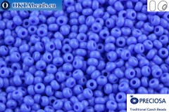 Preciosa czech seed beads 1 quality blue (33040) 10/0, 50g