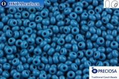 Preciosa český rokajl 1 jakost modrý (33220) 10/0, 50g