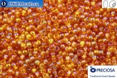 Прециоза чешский бисер 1 сорт топаз радужный (11070) 10/0, 50гр