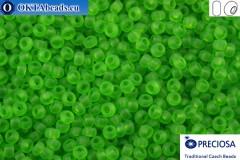Preciosa czech seed beads 1 quality green matte (50430m) 10/0, 50g