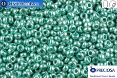 Preciosa český rokajl 1 jakost zelený metalíza (18134) 10/0, 50g