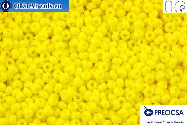 Preciosa czech seed beads 1 quality yellow (83110) 10/0, 50g