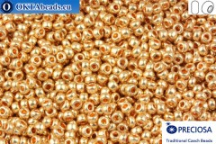 Preciosa czech seed beads 1 quality gold (18184) 10/0, 50g