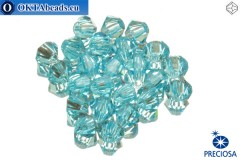 Preciosa Crystal Bicone - Aqua Bohemica 3mm, 24pc