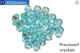 Preciosa Křišťálové Korálky - Aqua Bohemica 4mm, 24ks 4PRcrys23