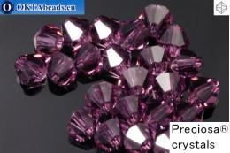 Preciosa Crystal Bicone - Amethyst 3mm, 24pc 3PRcrys2
