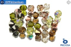 Preciosa Crystal Bicone - Artistic Impression 3mm, 24pc