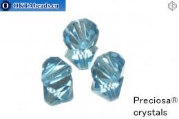 Preciosa Crystal Bicone - Aquamarine 10mm, 3pc 10PRcrys4