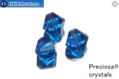 Preciosa Křišťálové Korálky - Capri Blue 10mm, 3ks 10PRcrys1