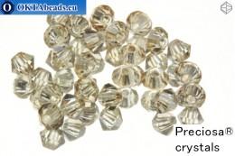 Прециоза Хрустальные Биконусы - Crystal honey 3мм, 24шт 3PRcrys47