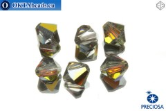 Preciosa Crystal Bicone - Crystal Marea 8mm, 6pc