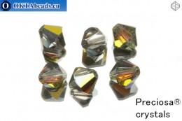 Прециоза Хрустальные Биконусы - Crystal Marea 8мм, 6шт 8PRcrys14