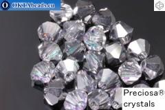 Прециоза Хрустальные Биконусы Crystal Vitrail Light 4мм, 24шт