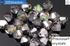 Прециоза Хрустальные Биконусы Crystal Vitrail Medium 4мм, 24шт