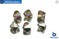 Preciosa Crystal Bicone - Crystal Volcano 8mm, 6pc