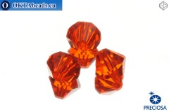 Preciosa Crystal Bicone - Hyacint 10mm, 3pc