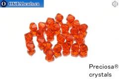 Прециоза Хрустальные Биконусы - Hyacint 4мм, 24шт
