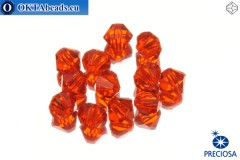 Preciosa Crystal Bicone - Hyacint 6mm, 12pc