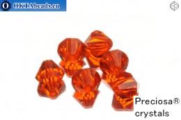 Прециоза Хрустальные Биконусы - Hyacint 8мм, 6шт 8PRcrys5