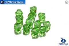 Preciosa Crystal Bicone - Peridot 6mm, 12pc