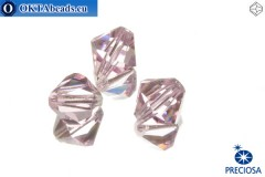 Preciosa Křišťálové Korálky - Pink Sapphire 10mm, 3ks 10PRcrys8