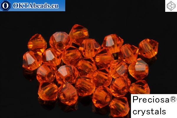 Preciosa Křišťálové Korálky - Sun 3mm, 24ks 3PRcrys60