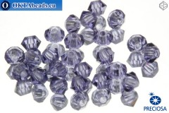 Preciosa Crystal Bicone - Tanzanite 3mm, 24pc