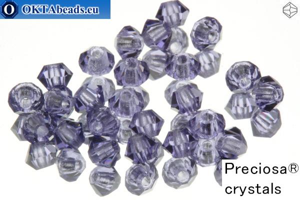 Preciosa Crystal Bicone - Tanzanite 3mm, 24pc