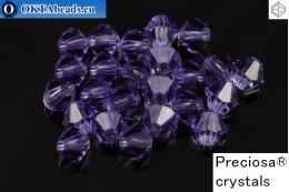 Прециоза Хрустальные Биконусы - Tanzanite 4мм, 24шт 4PRcrys115