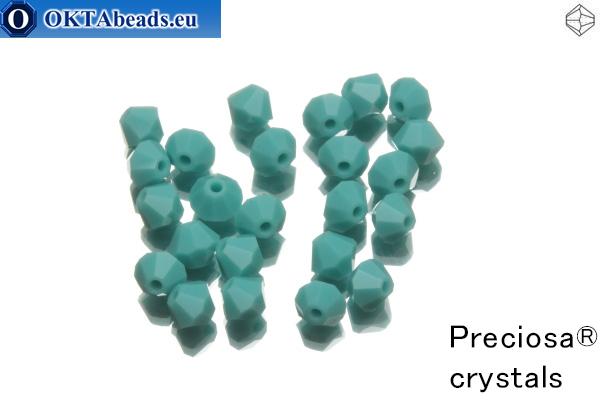 Preciosa Crystal Bicone - Turquoise 4mm, 24pc