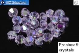 Прециоза Хрустальные Биконусы - Violet AB 3мм, 24шт 3PRcrys54
