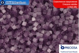Прециоза чешская рубка шелк фиолетовая 10/0, ~50гр 2CR008