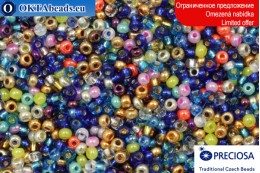 Preciosa czech seed beads mix 11/0, ~50g 2CR072