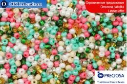 Preciosa czech seed beads mix 11/0, ~50g 2CR075