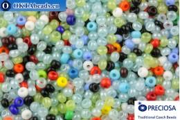 Preciosa czech seed beads mix 11/0, 50g 2CR9070