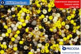 Preciosa czech seed beads mix 8-11-14/0, ~50g 2CR059