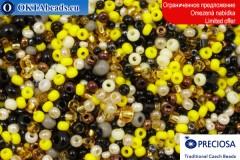 Preciosa český rokajl mix 8-11-14/0, ~50g 2CR059