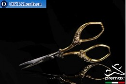 Embroidery Scissors Premax 24k Gold Plated 9cm premax-023