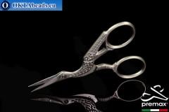 Bižuterní Nůžky Premax Černý 9cm