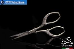 Bižuterní Nůžky Premax Matný 9cm premax-025
