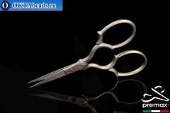 Bižuterní Nůžky Premax Matný Chrom 9cm