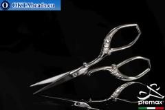 Bižuterní Nůžky Premax Nikl 9cm