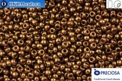 Прециоза чешский бисер 1 сорт бронза 10/0, 50гр specPR0005