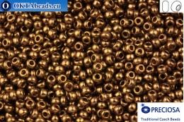 Preciosa czech seed beads 1 quality bronze 10/0, 50g specPR0005