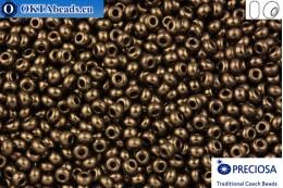 Preciosa czech seed beads 1 quality bronze 10/0, 50g specPR0006