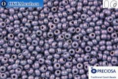 Preciosa český rokajl 1 jakost fialový zlatý lesk 10/0, 50g